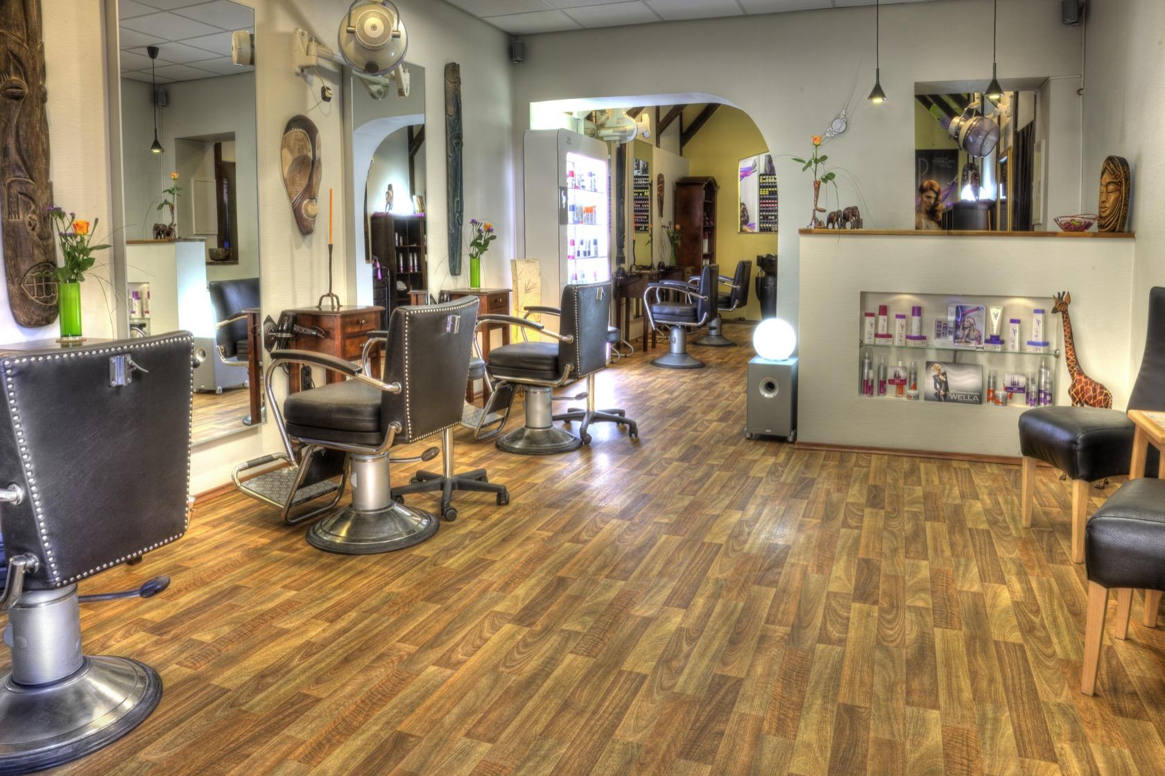 Der Eingangsbereich unseres Salons